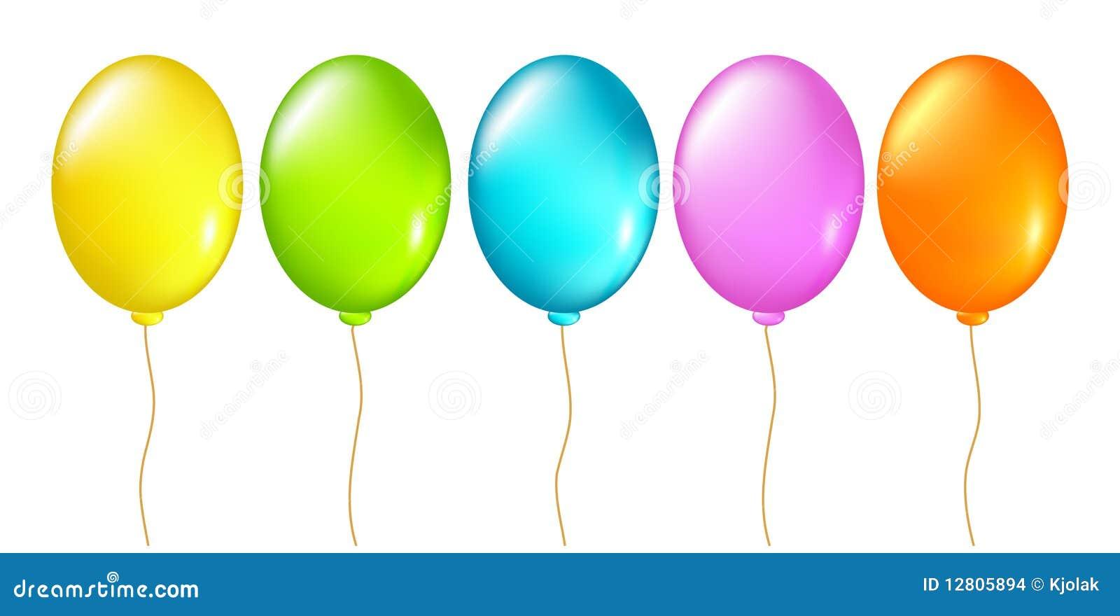 Balões ajustados