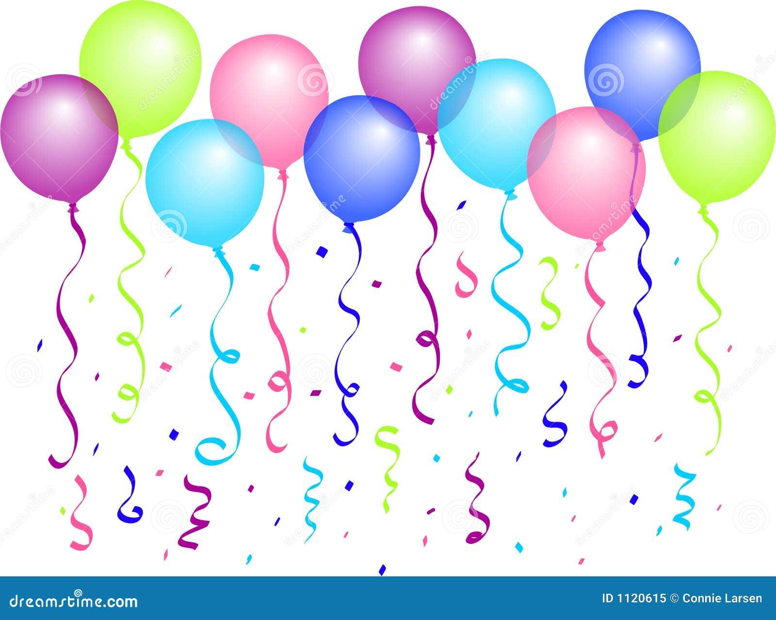 Balões e Confetti/eps