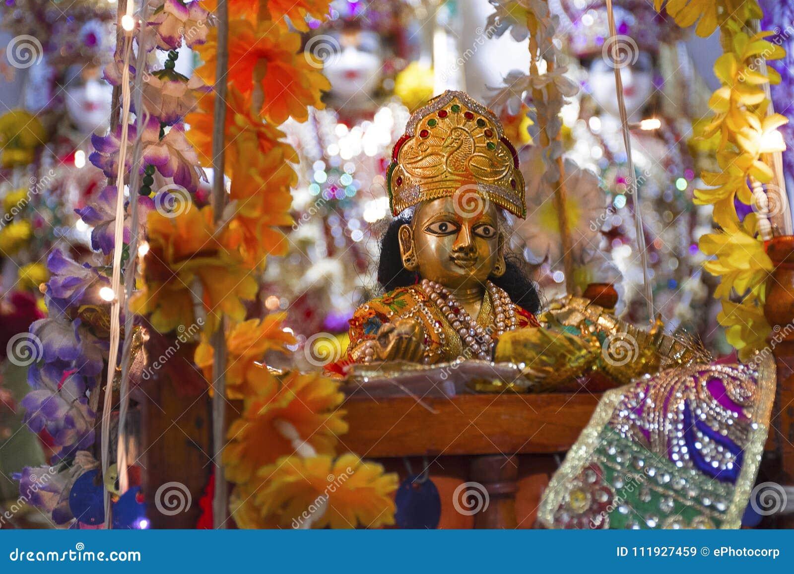 Bal Shree Krishna άγαλμα θεοτήτων