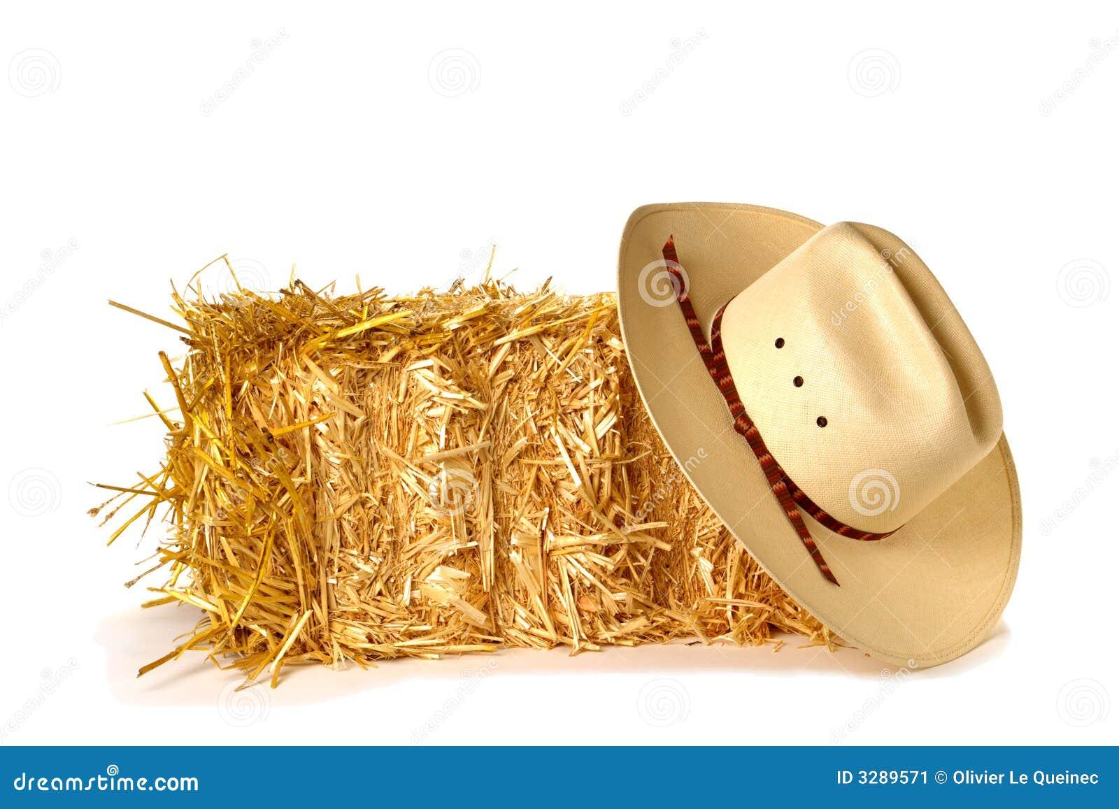 Bala do chapéu e da palha de cowboy