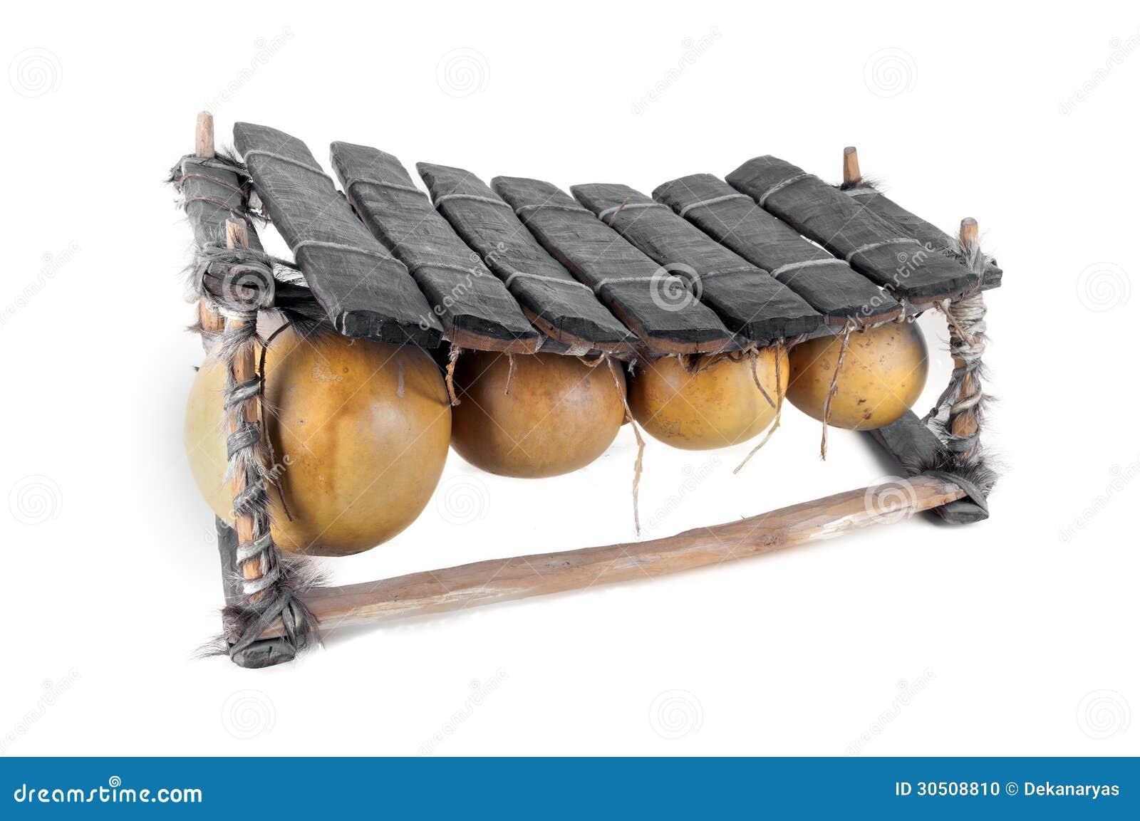 Balafon, Instrument De Musique Africain Photo stock  ~ Instrument En Bois Africain