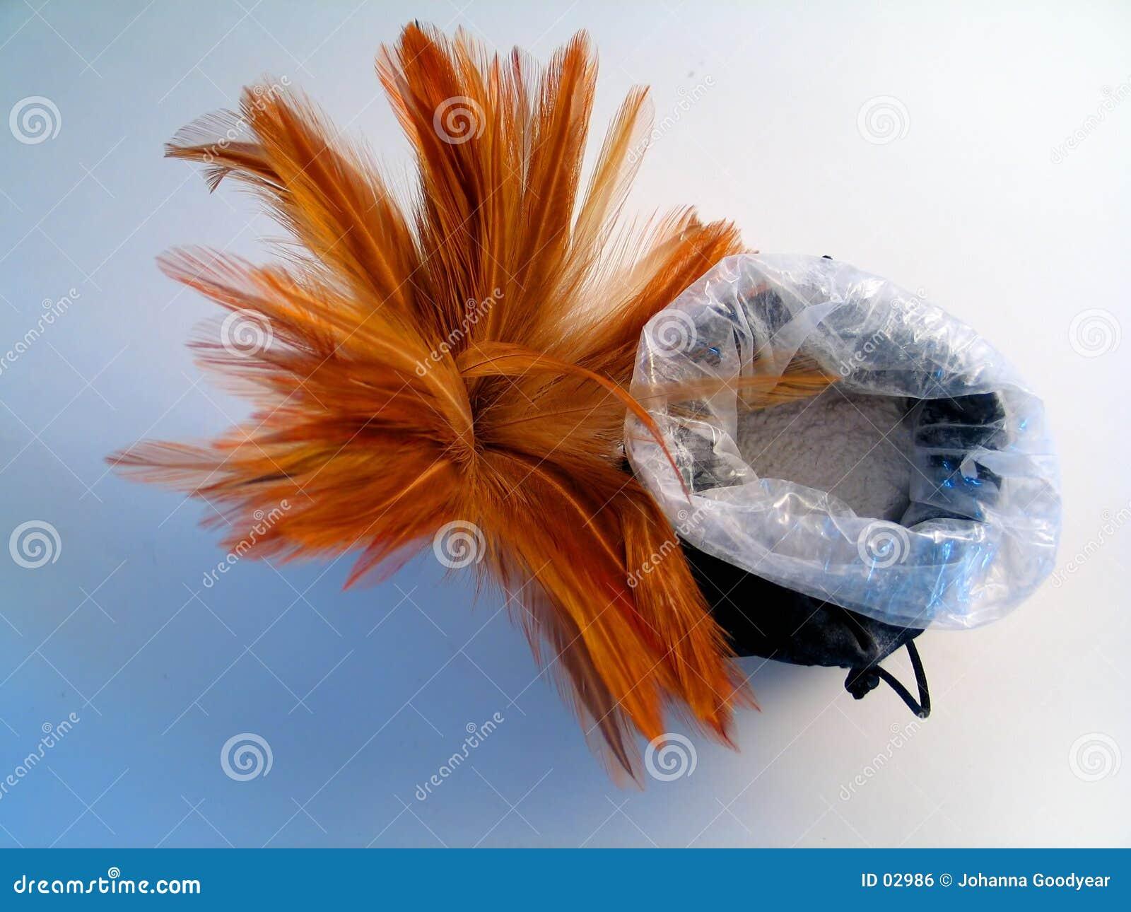 Balai de clavette avec le sac à poudre II