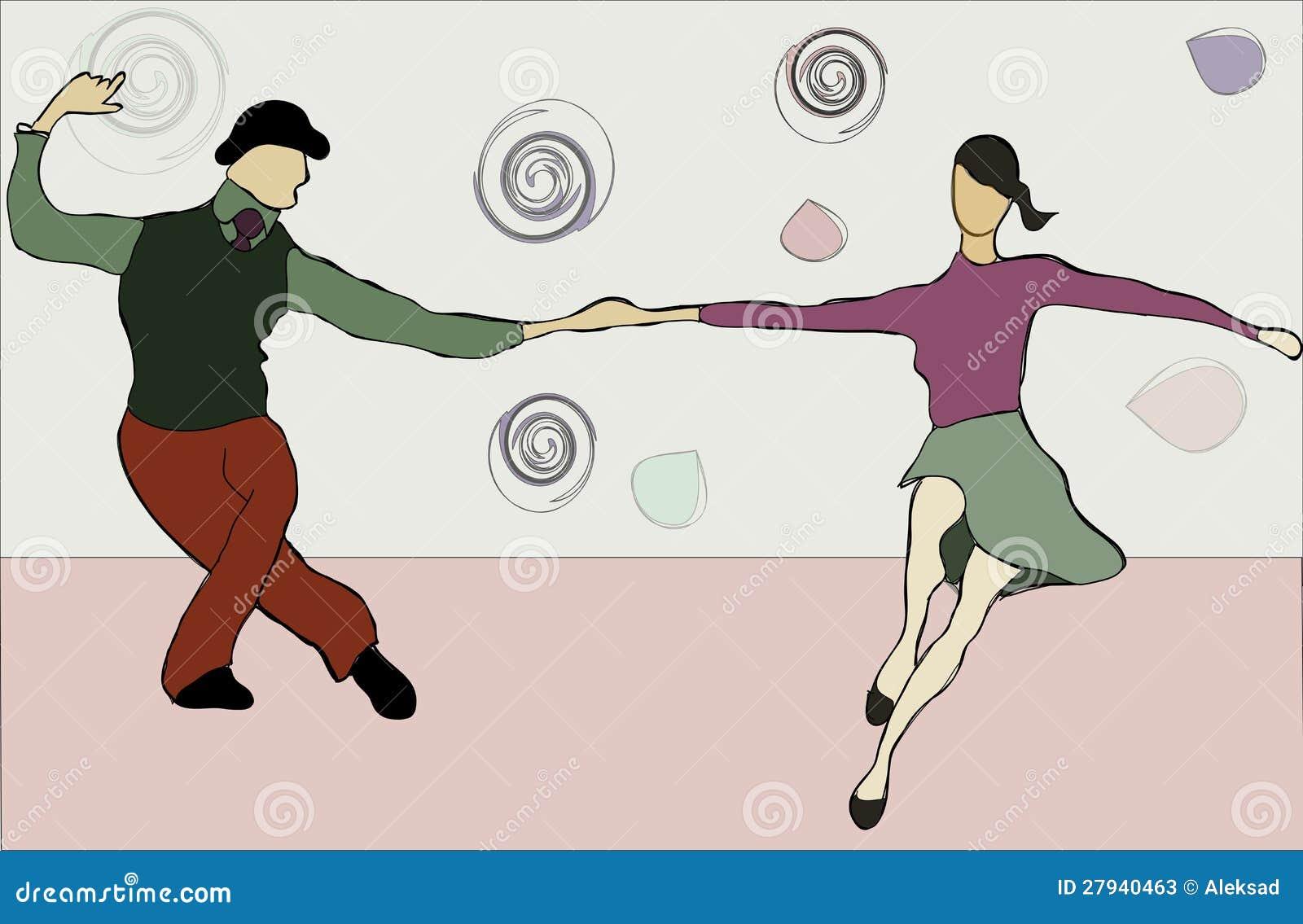 Balanço da dança dos pares