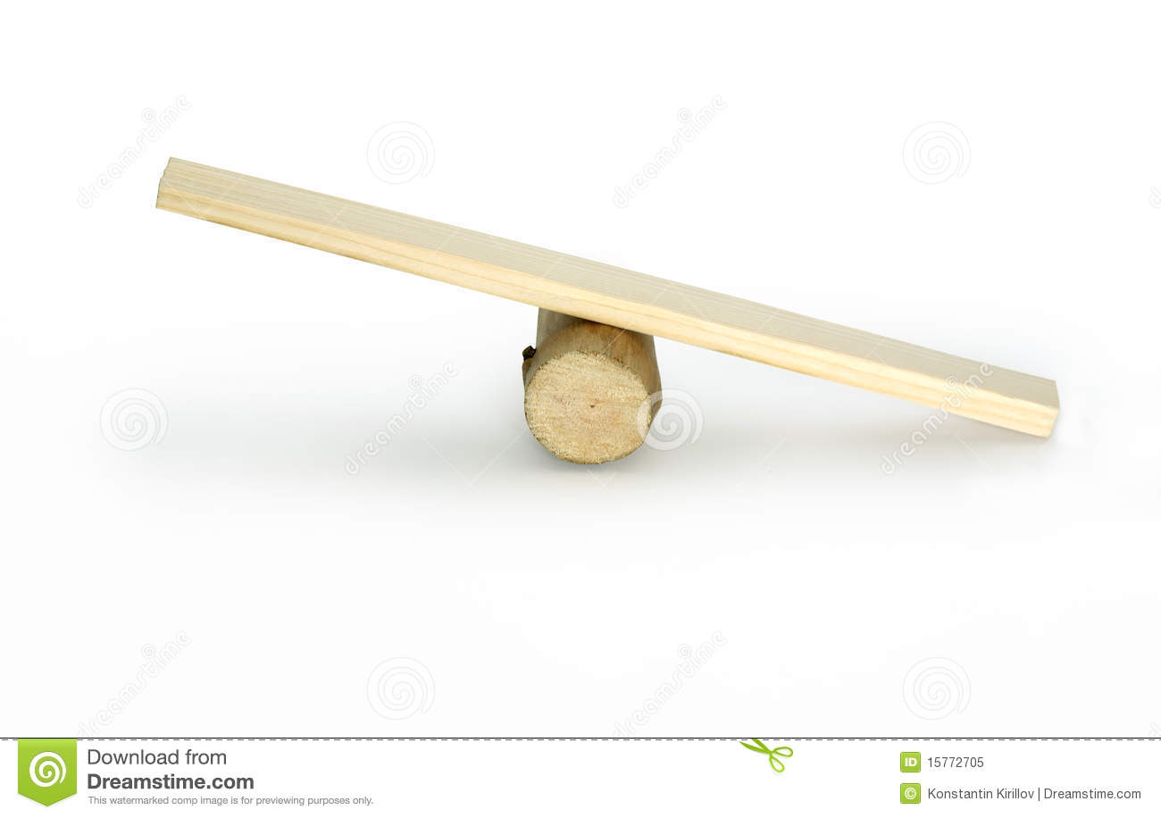 Balance royalty free stock photo image 15772705 for Seesaw plans designs