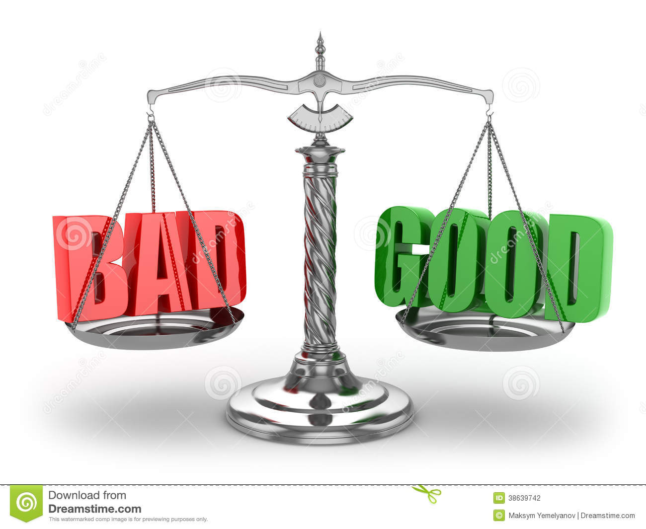 balance bad or good scales stock illustration Scales of Justice Symbol Scales of Justice
