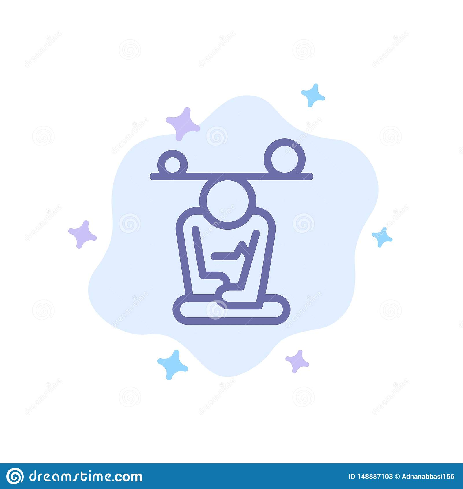 Balance, Concentration, Meditation, Mind, Mindfulness Blue ...