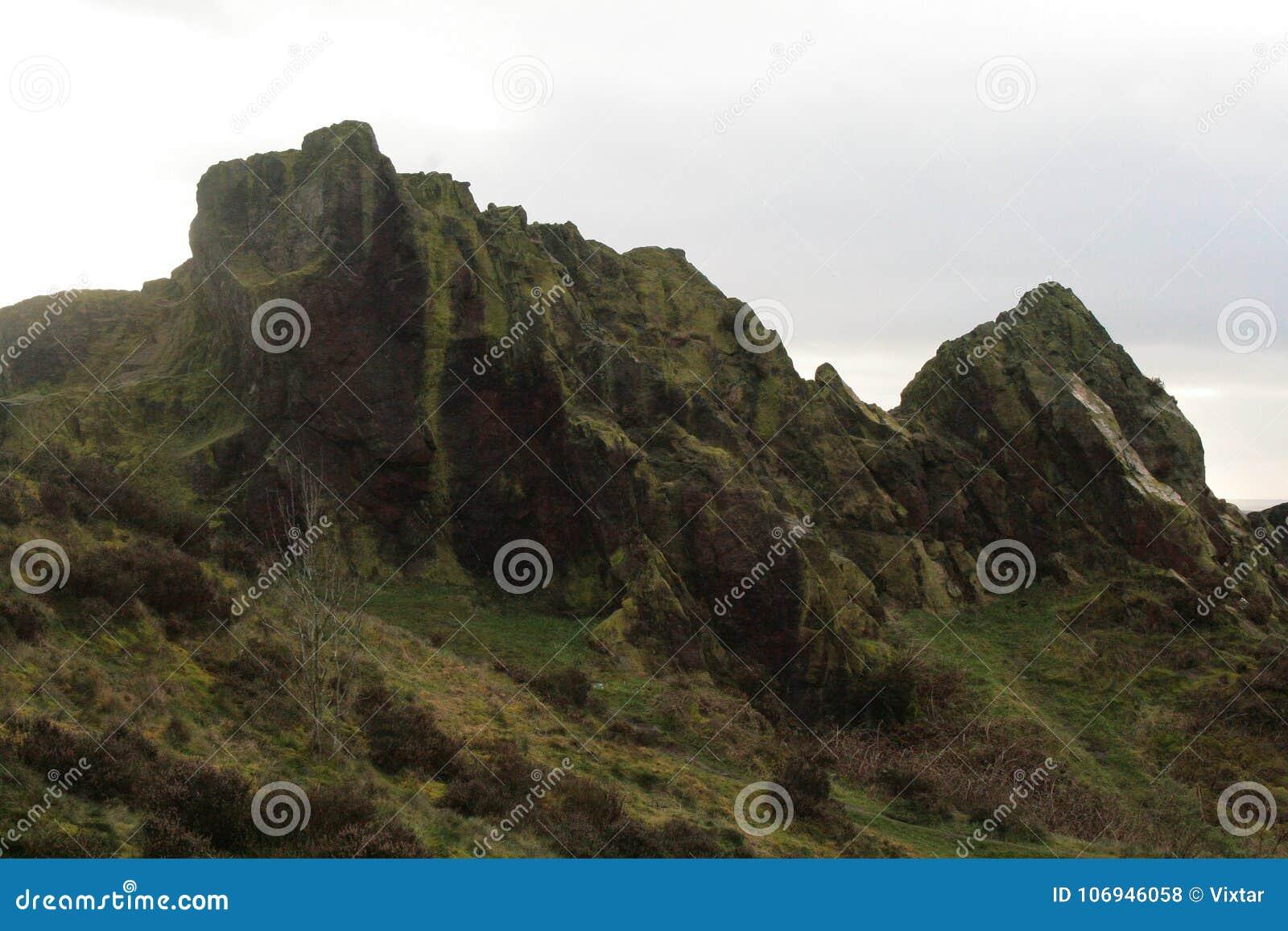 Balance picos próximo segam o castelo da bobina, Avivar-em-Trent
