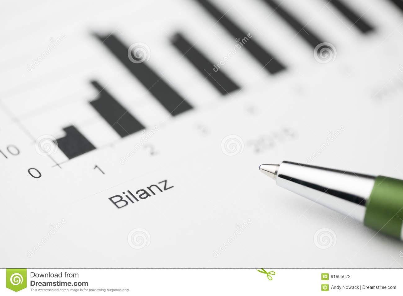 balance sheet high stock photo image of fill green 61605672