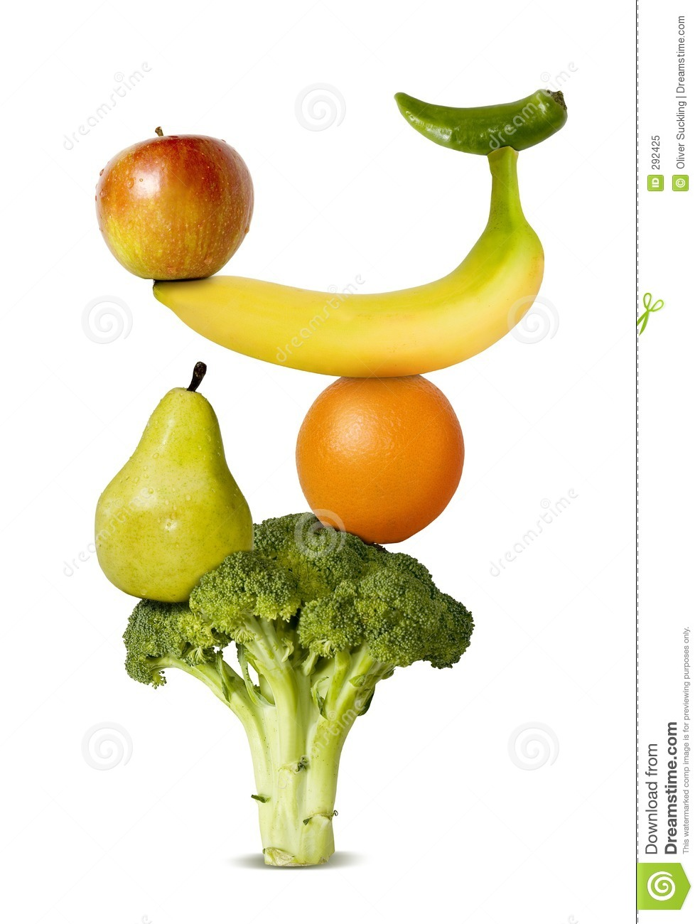 Balanced Diet Stock Image. Image Of Fruit, Healthy