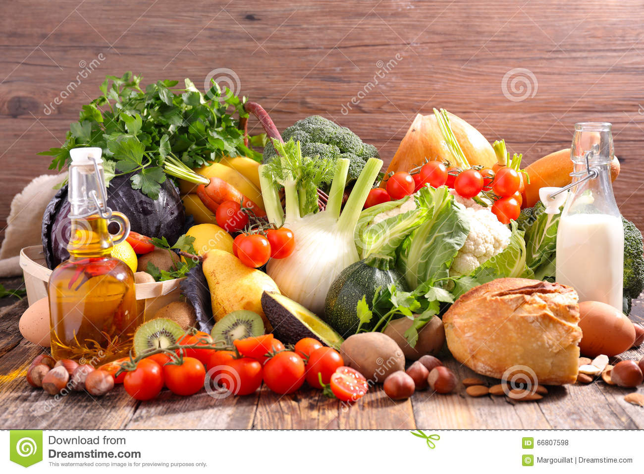 Balanced diet food concept stock photo image of fresh for Cuisine concept