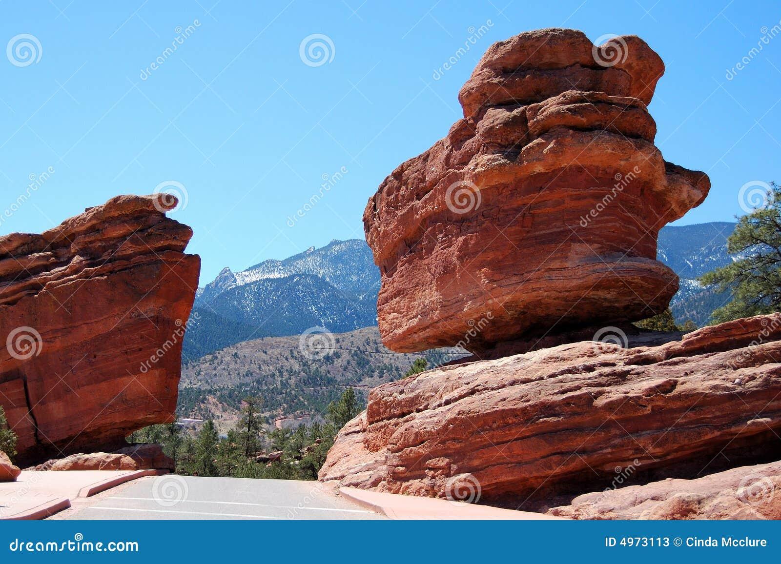 Balanced Rock Garden Of Gods Stock Photos Image 4973113