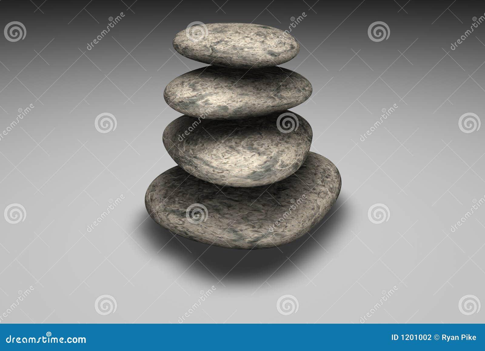 Balancing of rocks