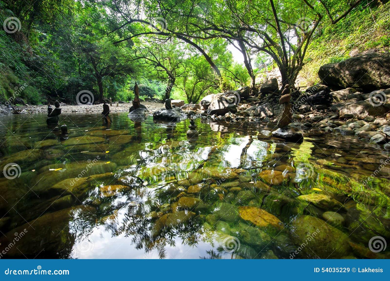 Balancing rocks tower for zen meditation in nature stock image image of nobody concept 54035229 - Image zen nature ...
