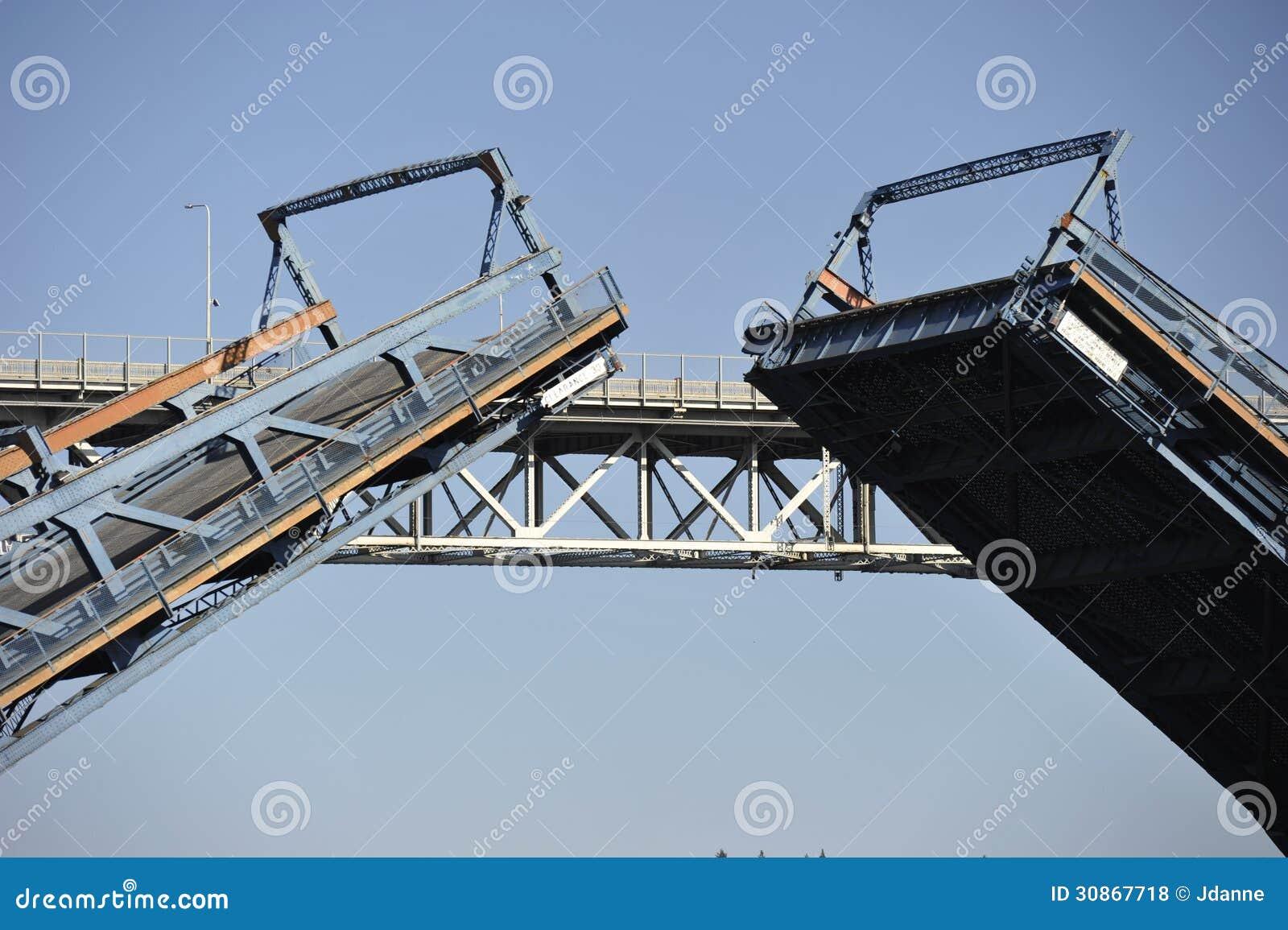 Balansowy most, Seattle, usa