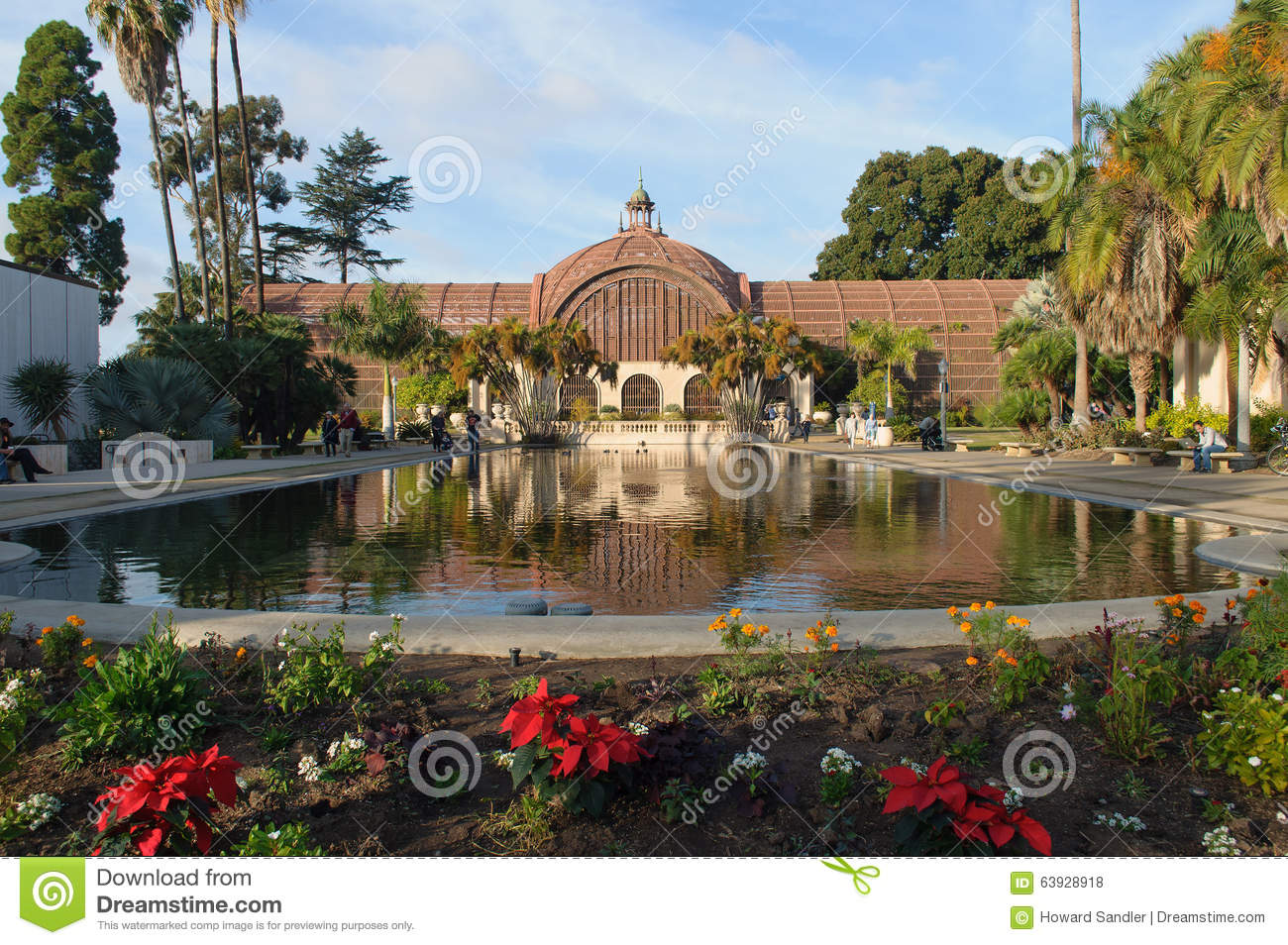 Balboa Park Botanical Building Editorial Stock Photo - Image of ...