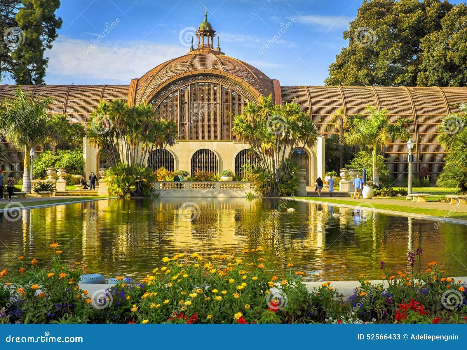 Balboa Park San Diego Botanical Building Editorial Stock