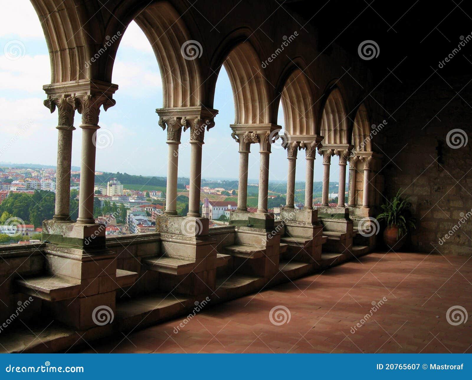 Balcão do castelo