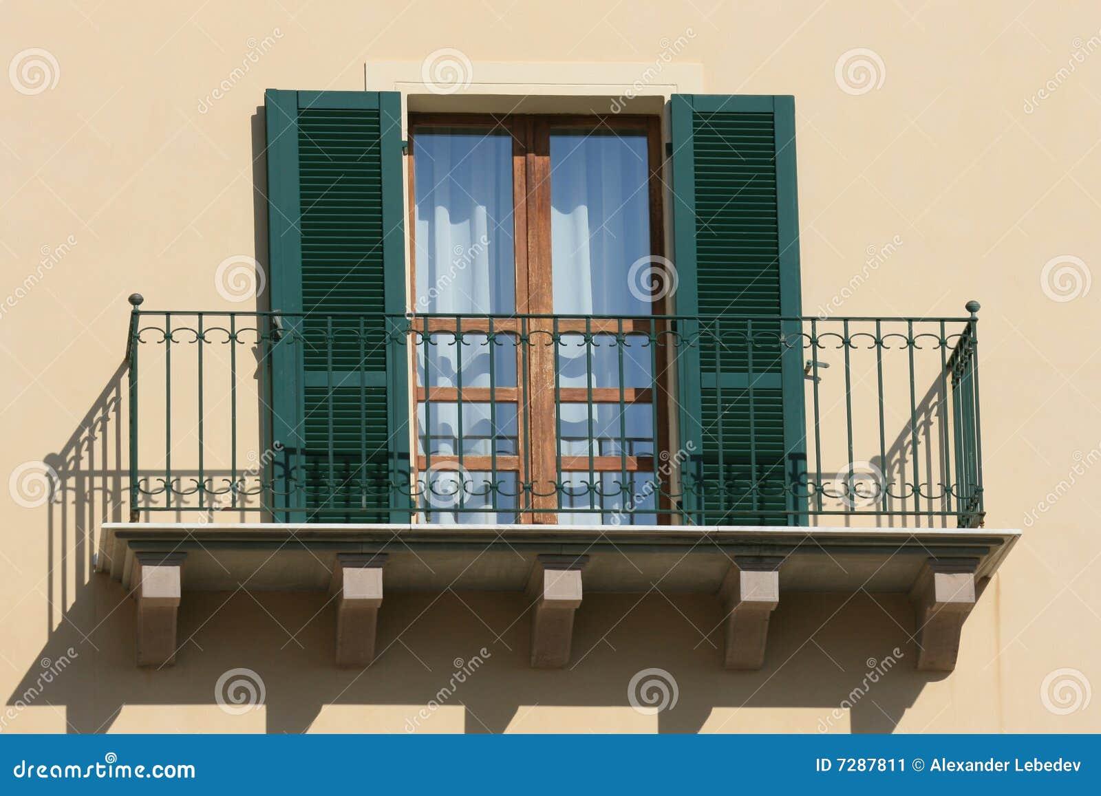 Balcón verde