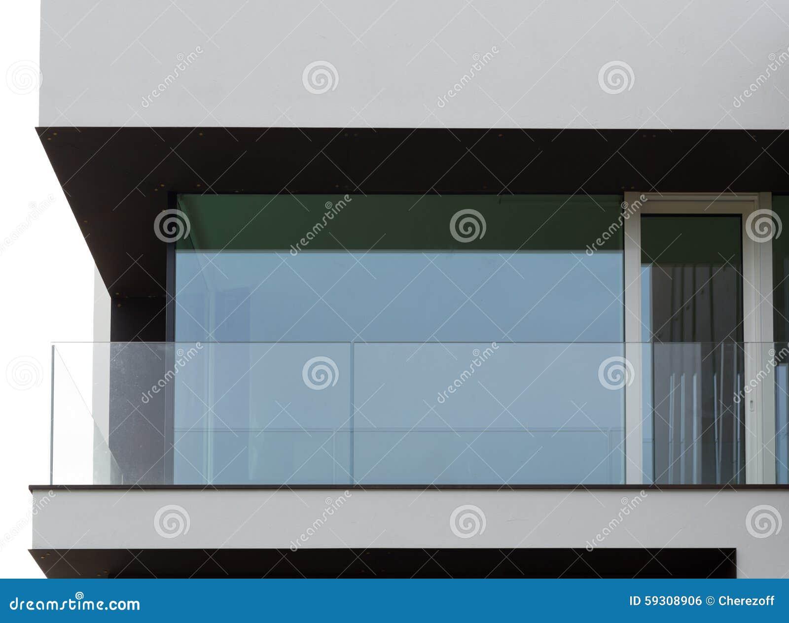 Balc n de cristal foto de archivo imagen 59308906 - Balcones de cristal ...
