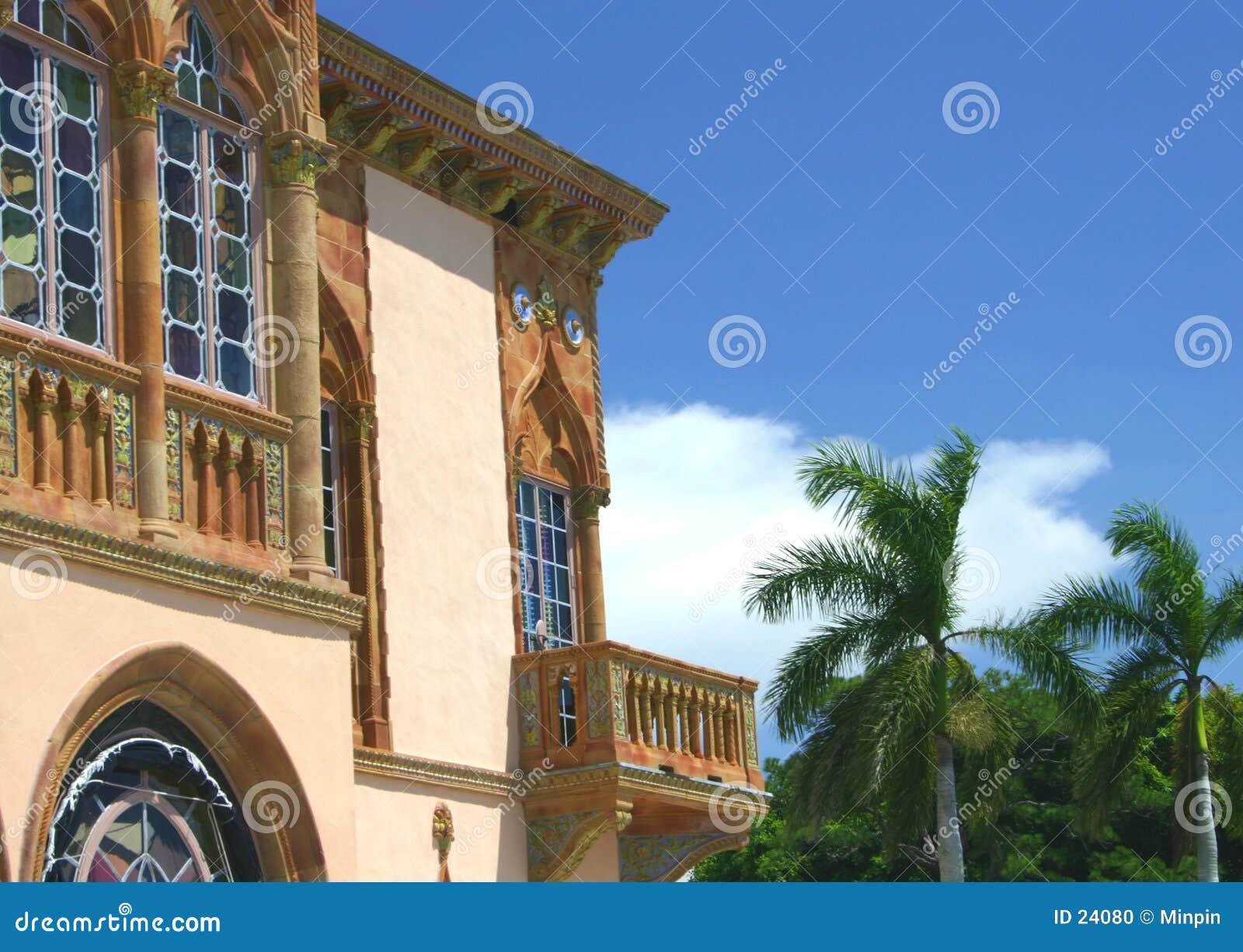 Balcon gothique vénitien
