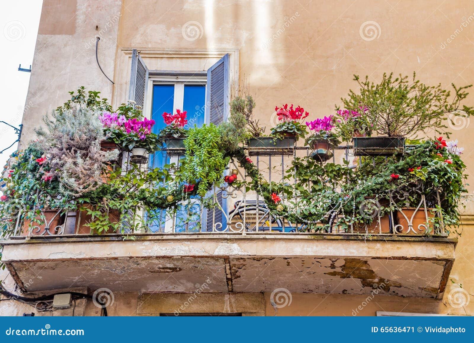 Balcon italien