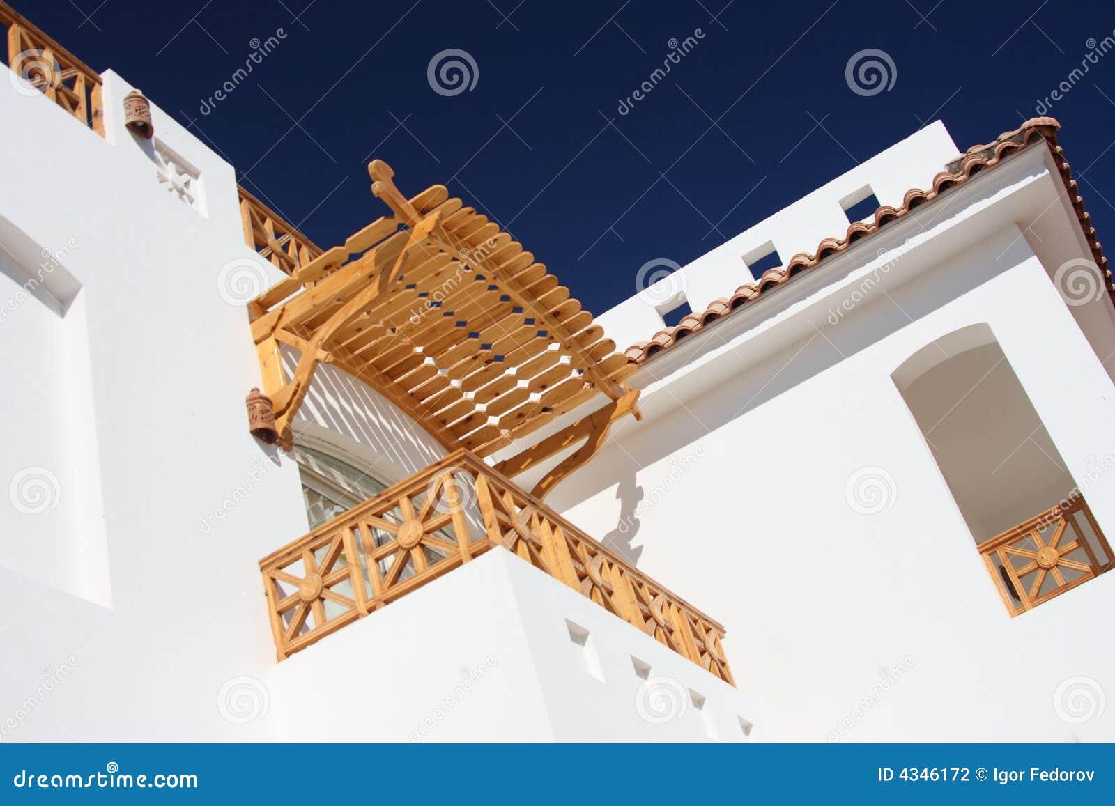Balcone fotografia stock immagine di casa visiera for Costare la costruzione di una casa contro l acquisto