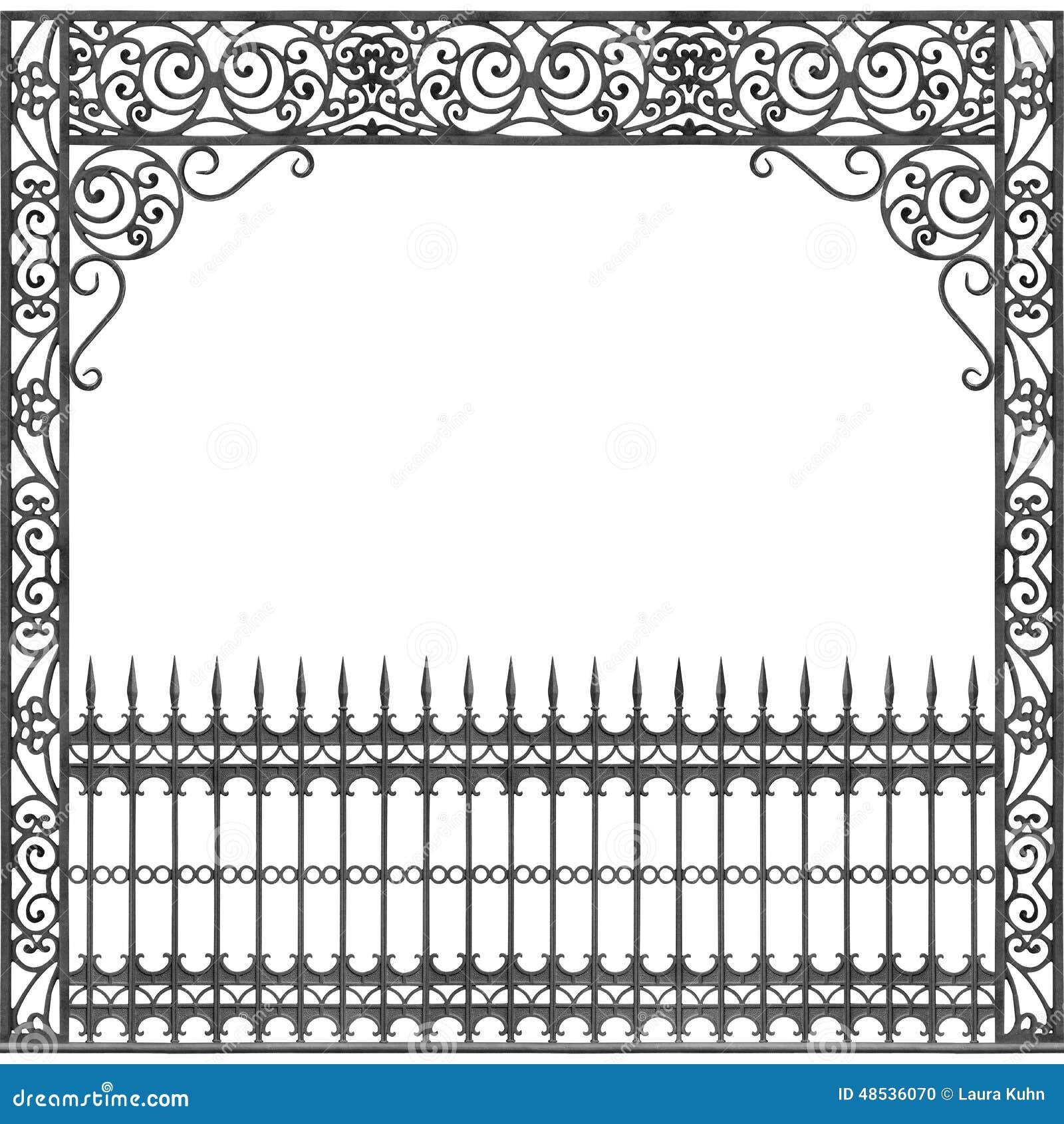 Balcone del ferro battuto di New Orleans