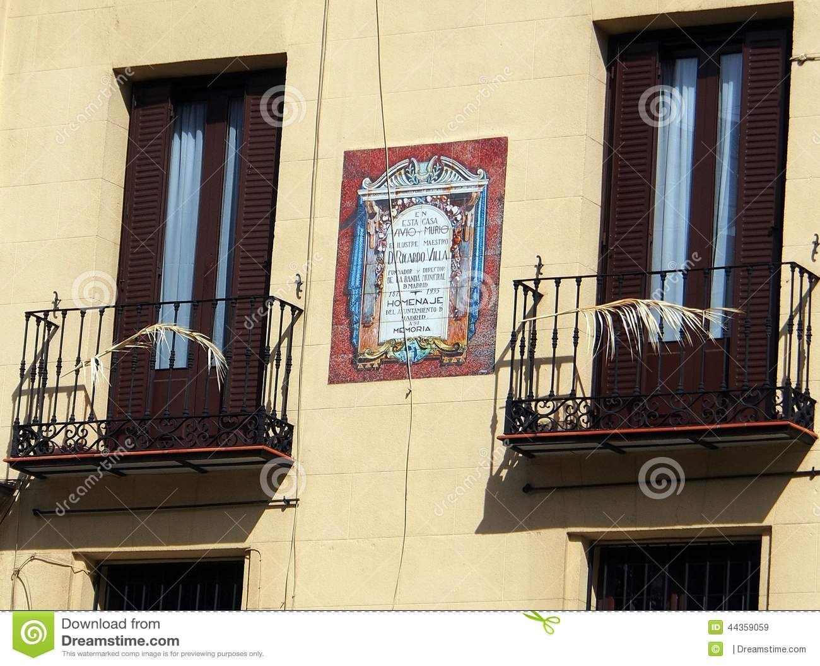 Balcone, Madrid centrale