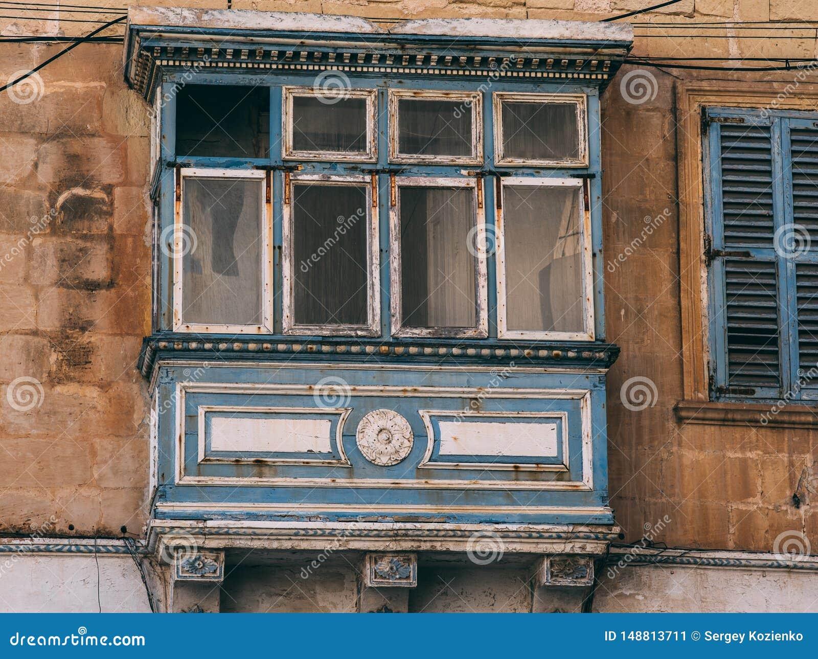 Balcone maltese tradizionale, Malta
