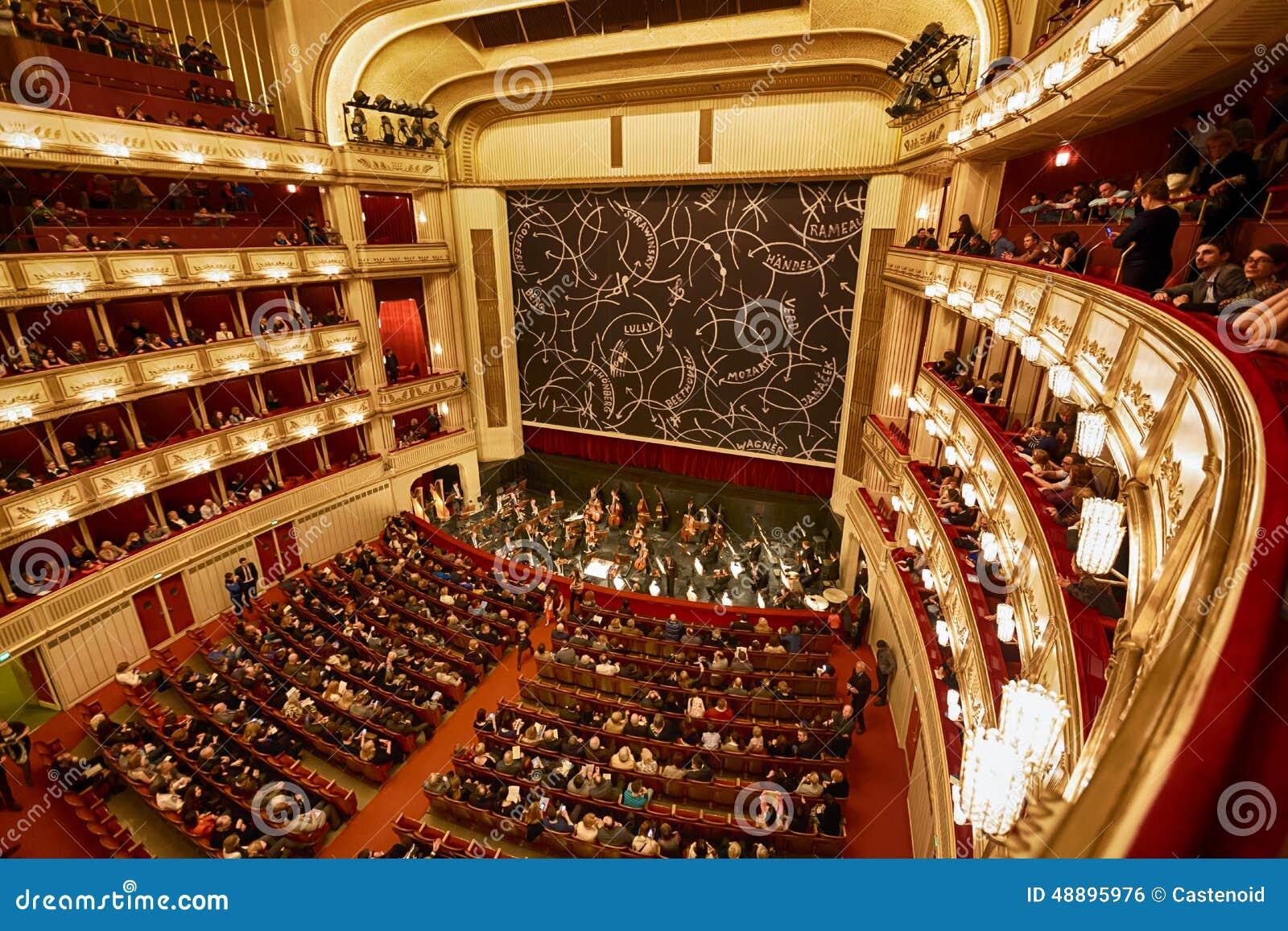 Balconies Of Vienna Opera House Editorial Photo - Image: 48895976