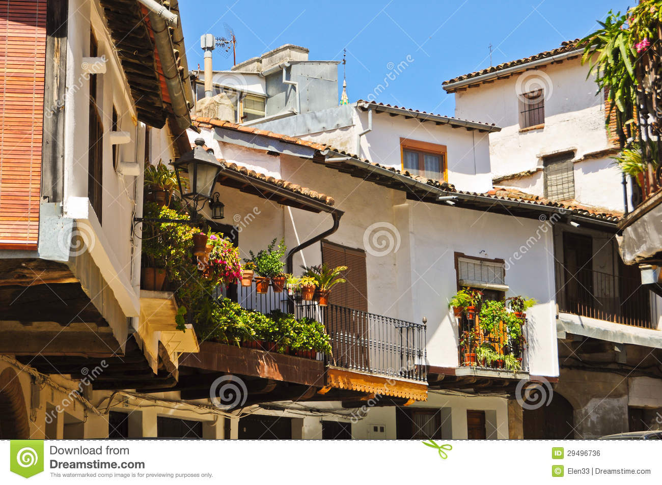 Balcony royalty free stock image image 29496736 for Balcony in spanish