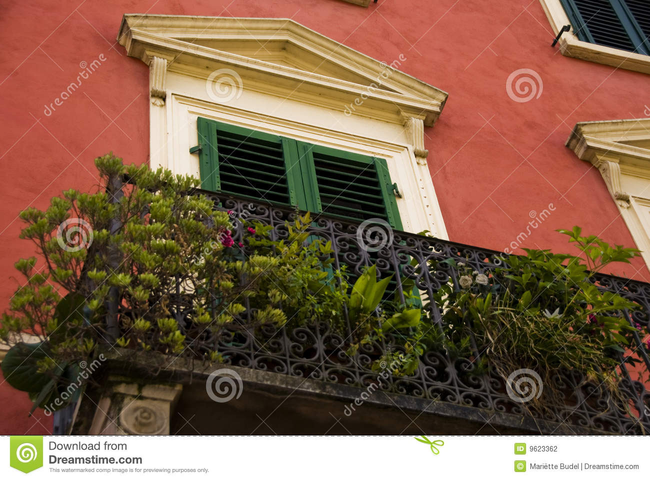 balcony in borgo a buggiano tuscany italy stock photography image 9623362. Black Bedroom Furniture Sets. Home Design Ideas