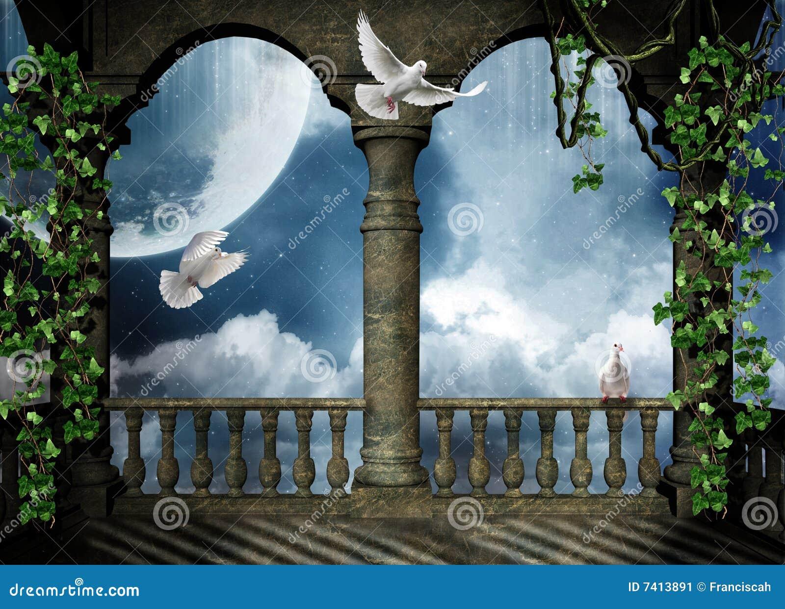 Balcony for the fantasy