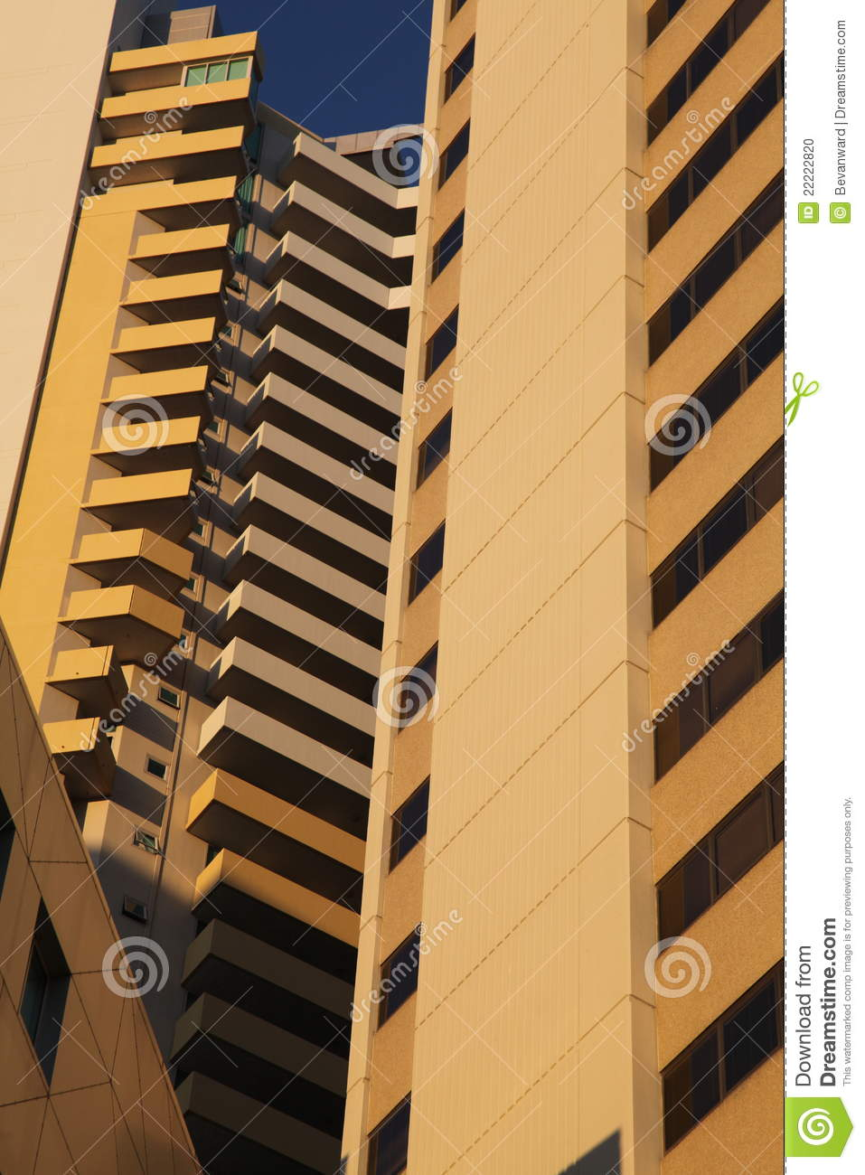 Balcony Highrise abstract