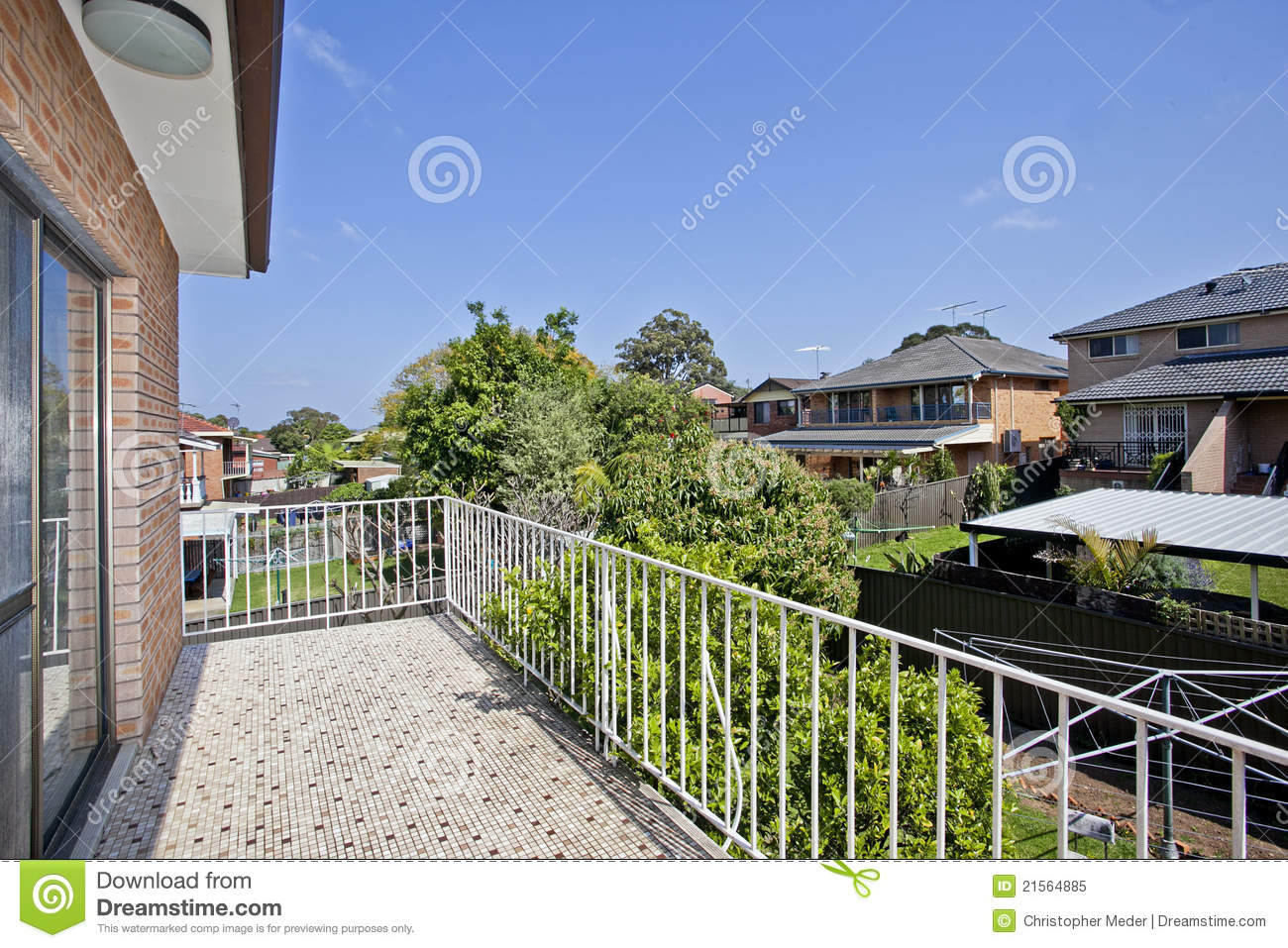 Balcony with a view royalty free stock photo image 21564885 for Balcony with view