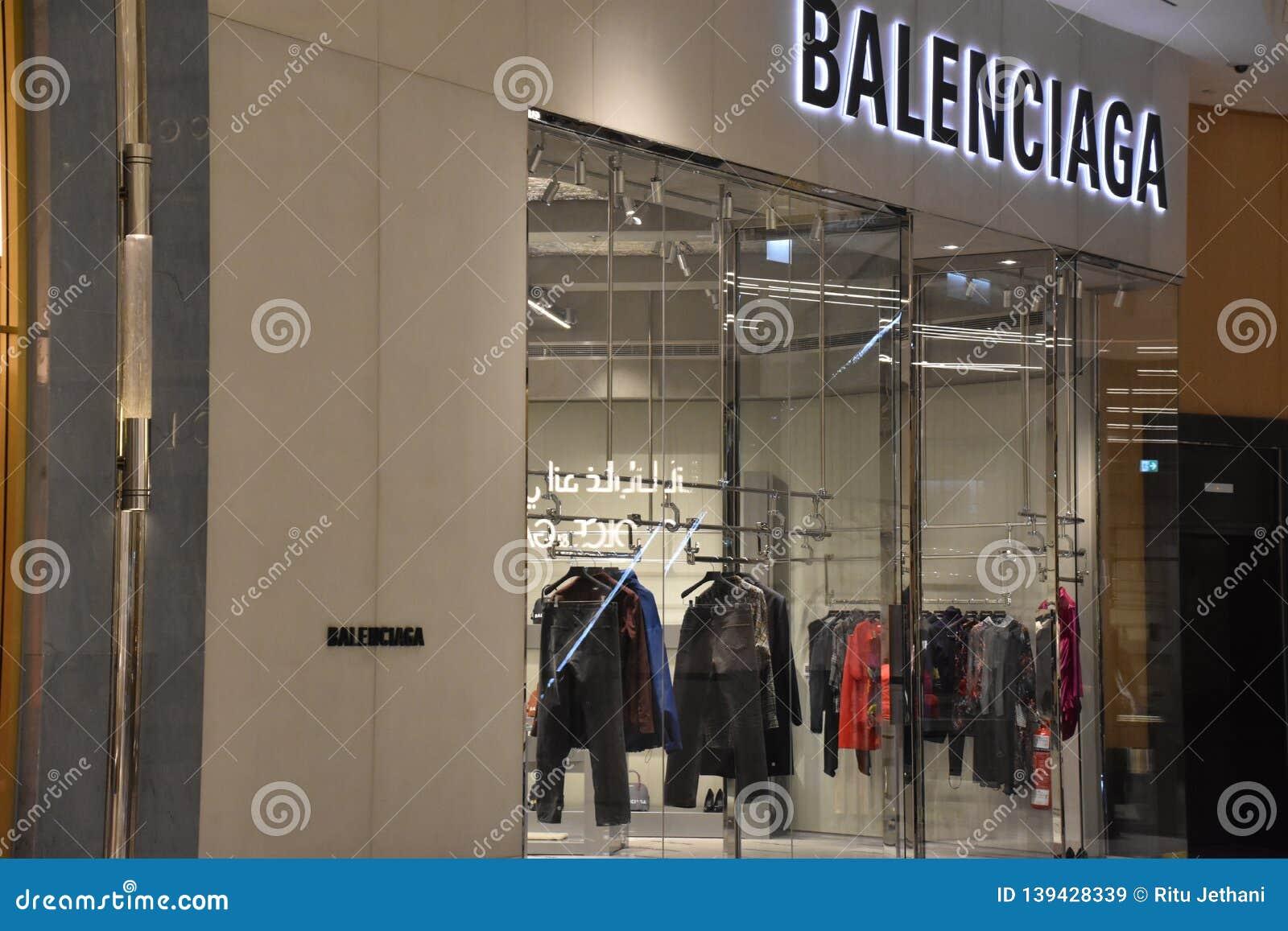 db2c4285b460 Balenciaga At Fashion Avenue At Dubai Mall In Dubai