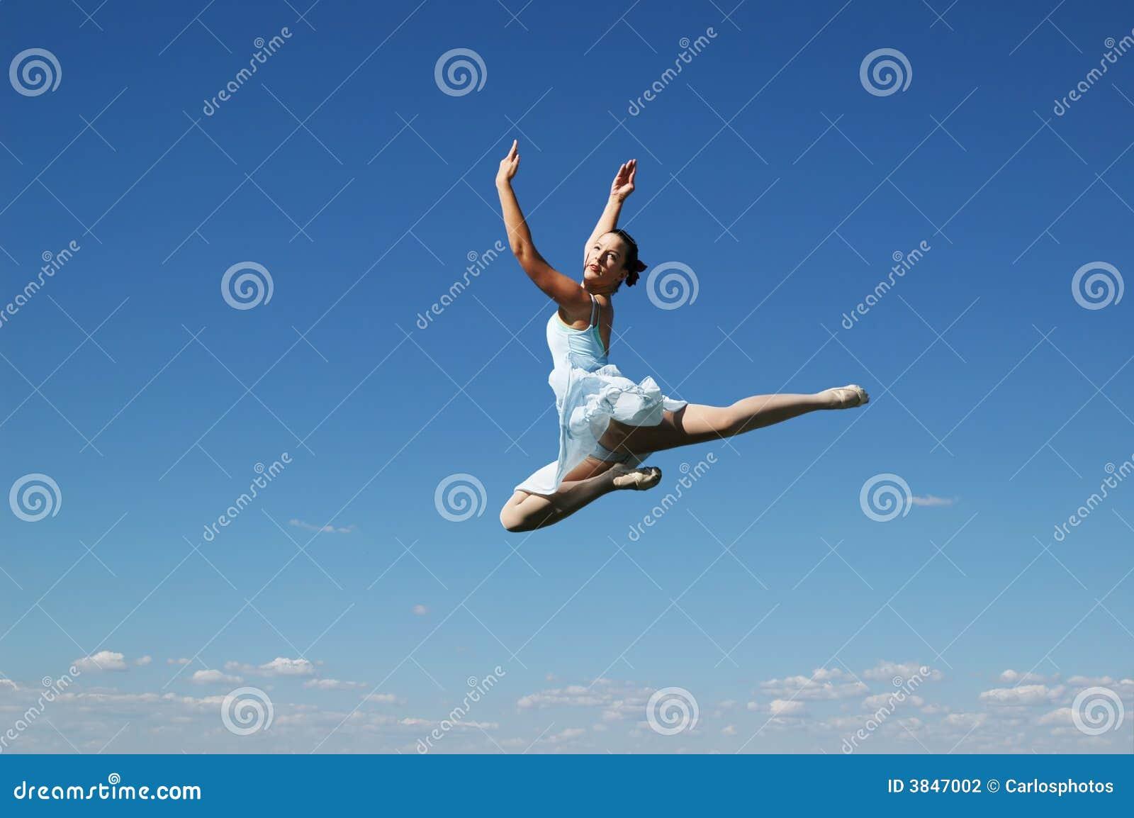 Baleriny jumping