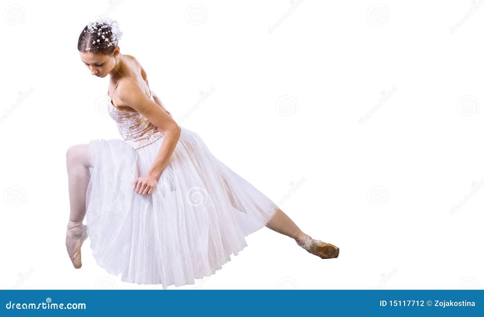 Baletniczego tancerza obsiadanie