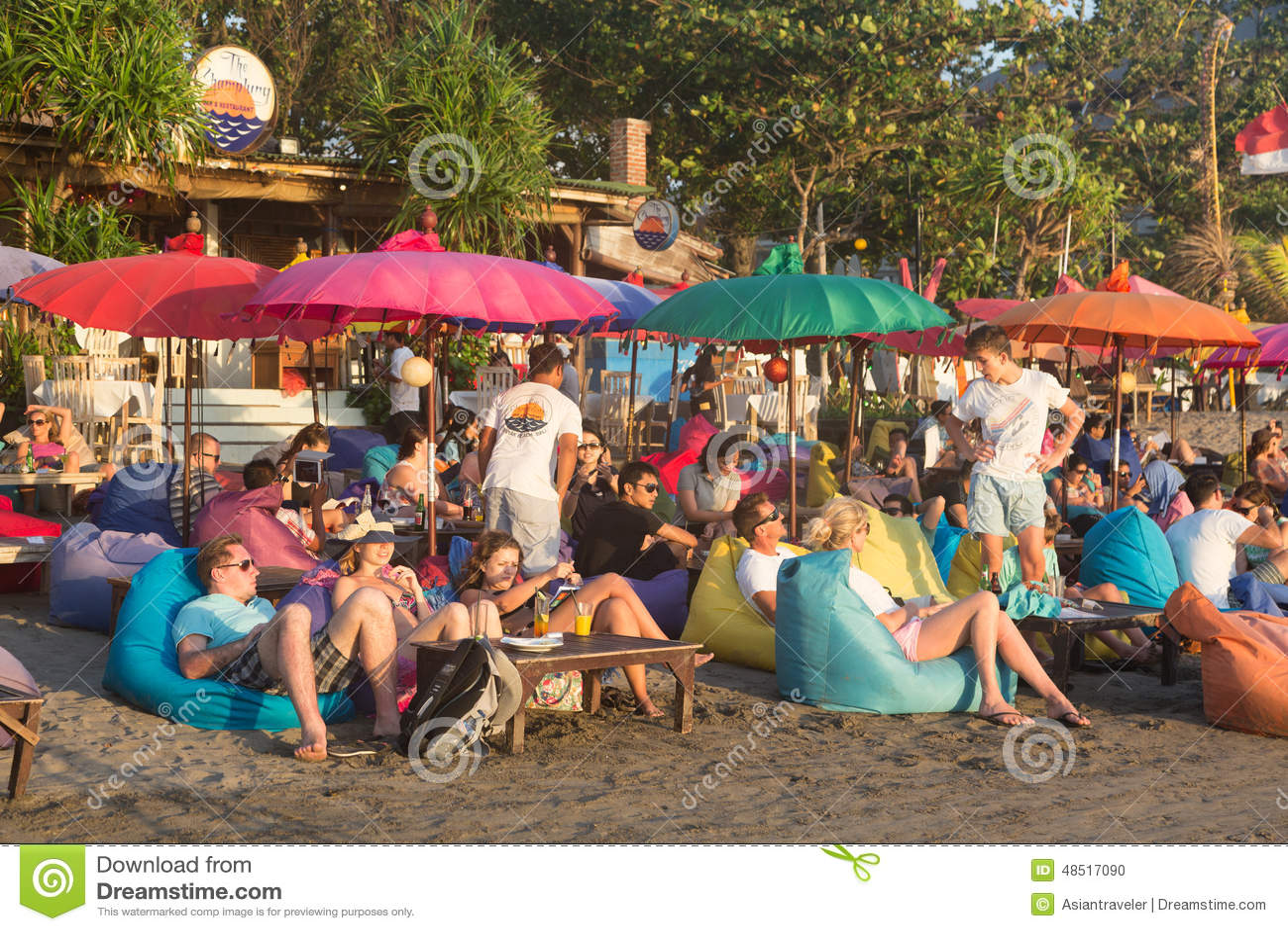 Bali beach bar editorial image. Image of indonesia ...