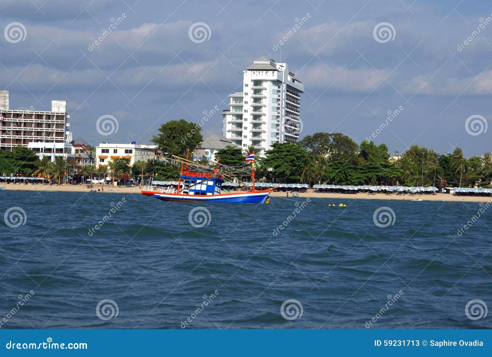 Bali Hai Pattaya Beach en Tailandia, Asia