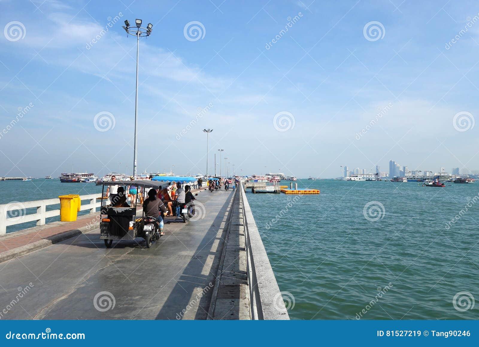 Where Is Bali Hai Island bali hai pier, located in the heart of pattaya editorial