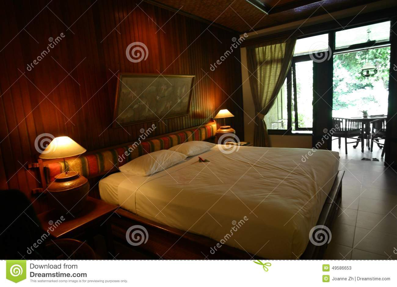 Nice Interior Design For Bedroom Walls #8: Bali-hotel-bedroom-style-decor-photograph-showing-interior-traditional-resort-indonesia-southeast-asia-walls-49586653.jpg