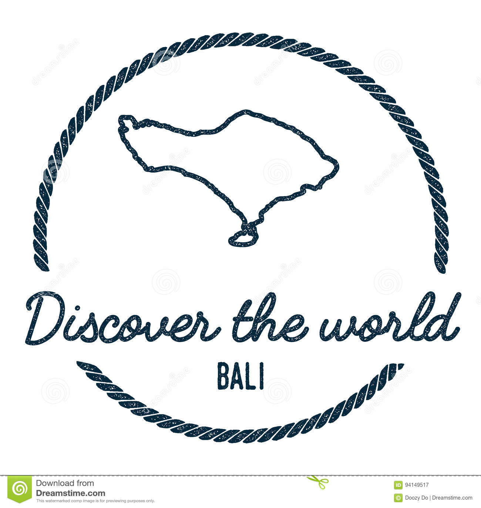 Bali mapy kontur Rocznik Odkrywa świat