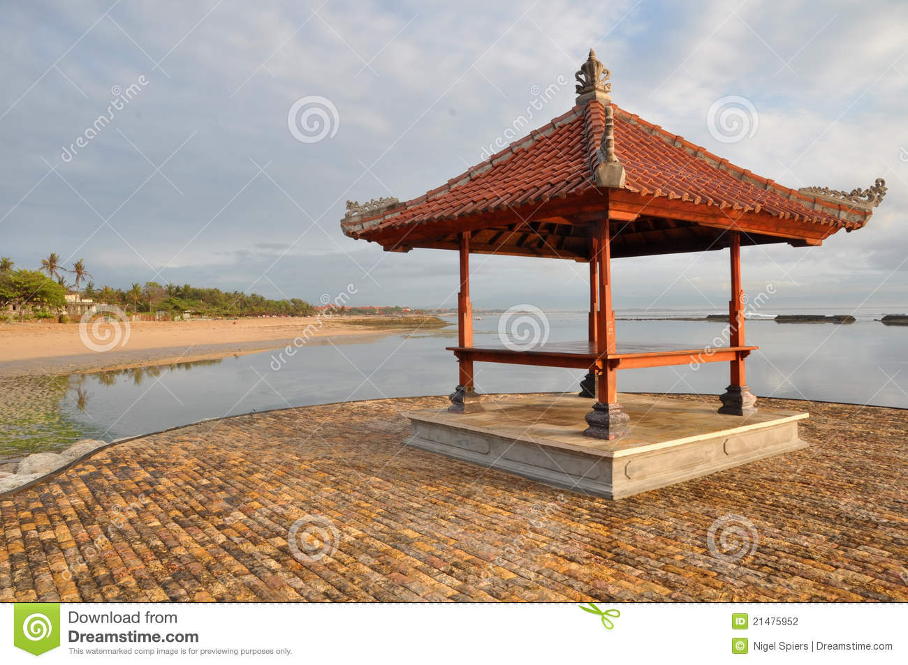 Bali pagoda indonesia stock photo image of point tour for Pagoda house plans