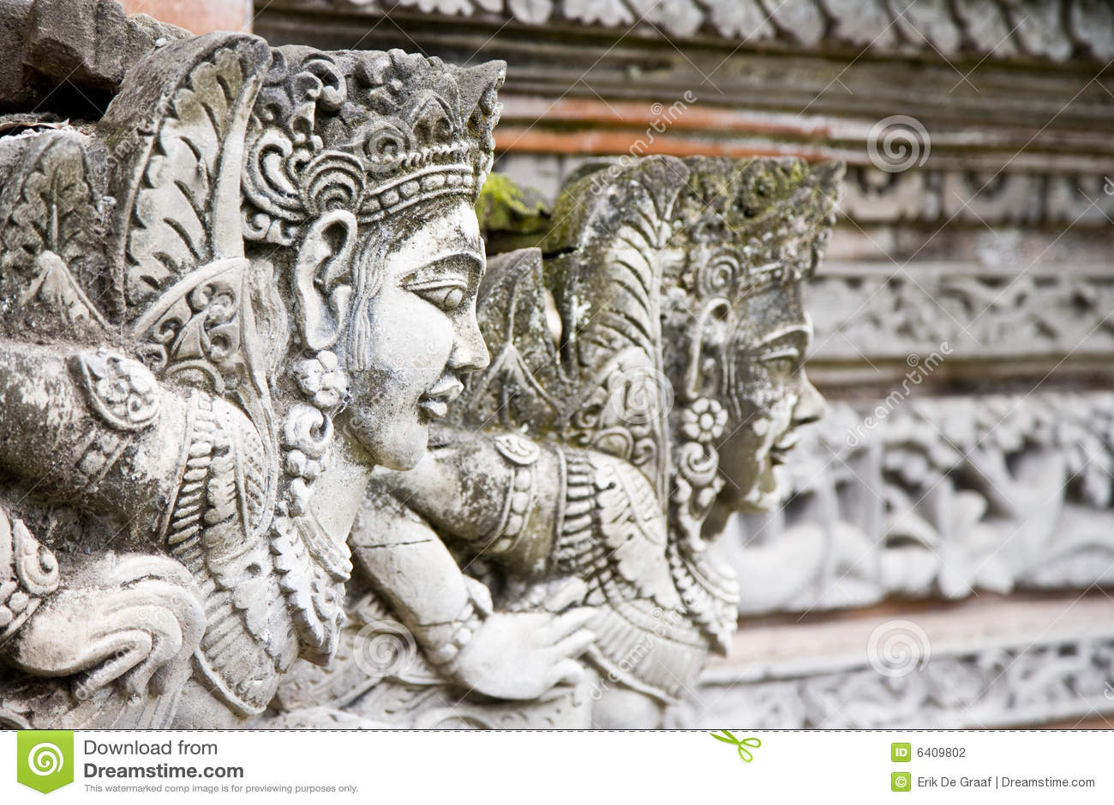 Bali rzeźby