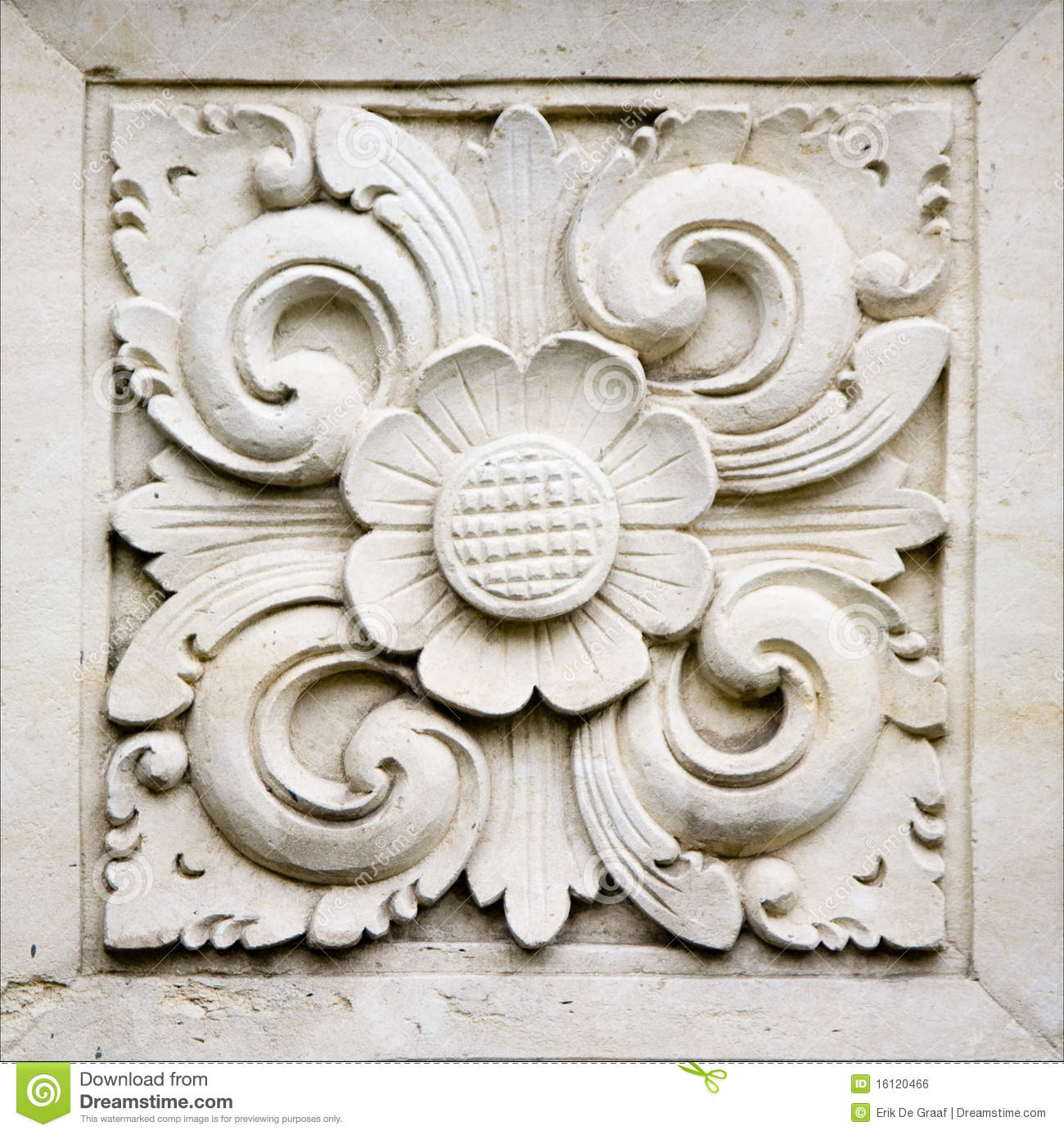 Bali stone carving stock photo image of sandstone symbol
