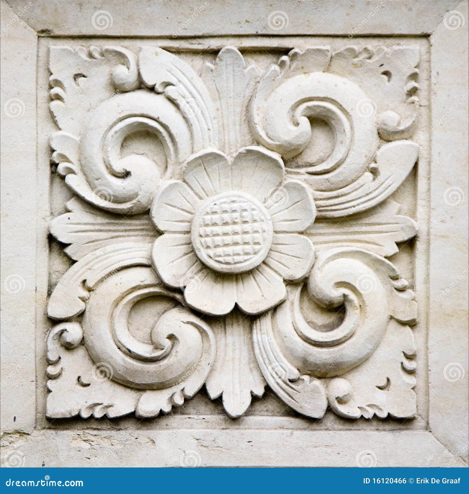 Bali stone carving royalty free stock image