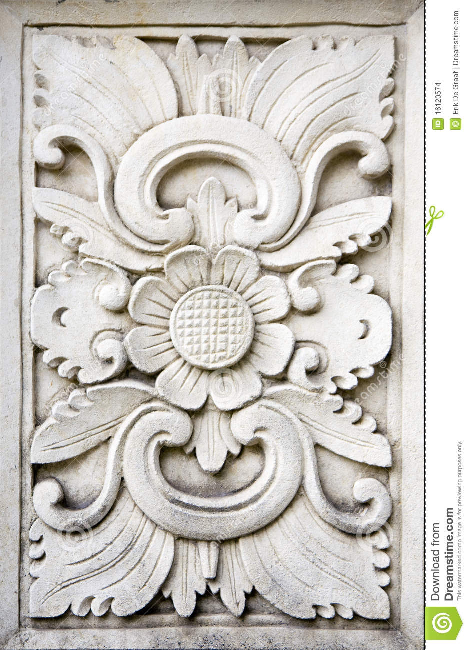 Bali stone carving stock images image