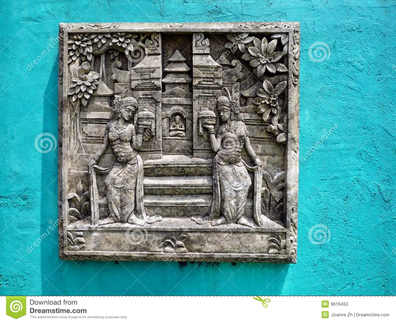 Bali stone carving stock photos image