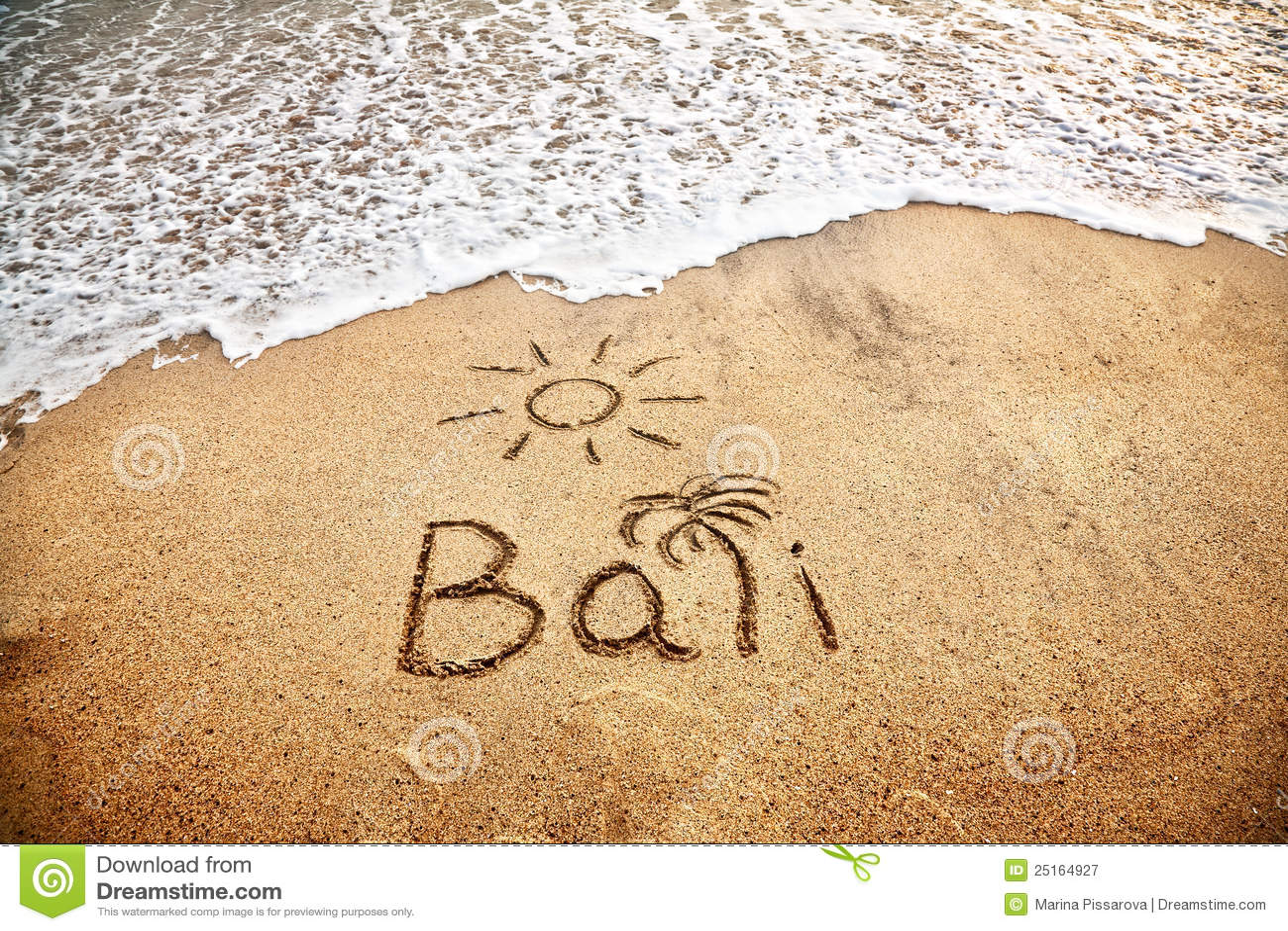 Bali sulla sabbia